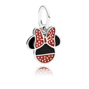 RETIRED Authentic Pandora Disney Minnie Icon Charm